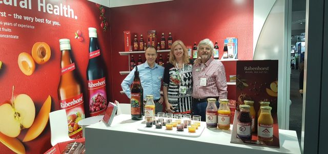 Team Rabenhorst at Fine Food Australia