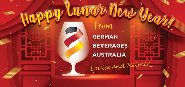 Happy Lunar New Year from German Beverages Australia