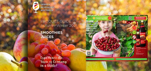 Rabenhorst smoothies & juices e-magazine flipping book with cherry nectar page