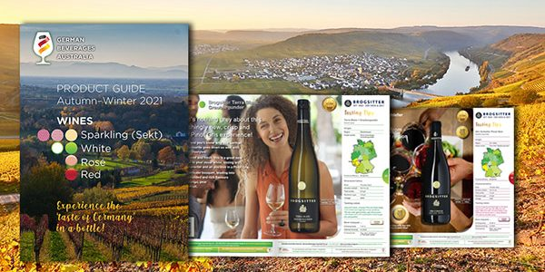 German wine magazine - flipping book