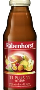 Rabenhorst 11 plus 11 yellow multi-fruit & multivitamin juice - 125ml bottle
