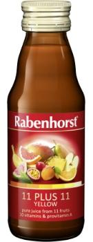 Rabenhorst 11 plus 11 yellow multi-fruit & multivitamin juice - 125ml bottle