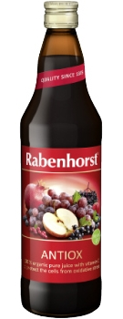 Rabenhorst Antiox multi-fruit juice - organic - 750ml bottle