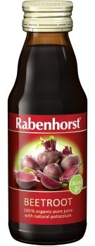 Rabenhorst Beetroot juice - organic - 125ml bottle