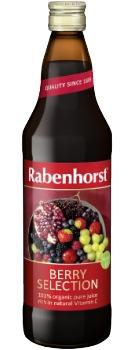 Rabenhorst Berry Selection juice - organic - 750ml bottle