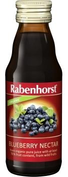 Rabenhorst Blueberry Nectar - organic 125ml bottle