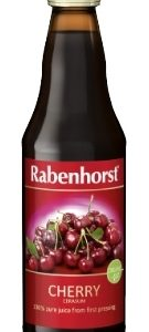 Rabenhorst Cherry juice - organic - 330ml bottle