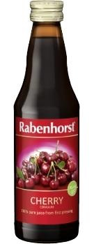 Rabenhorst Cherry juice - organic - 330ml bottle
