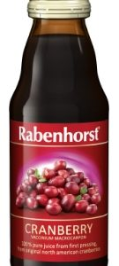 Rabenhorst pure Cranberry juice - 125ml bottle