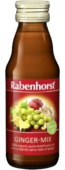 Rabenhorst Ginger-Mix juice - organic - 125ml bottle