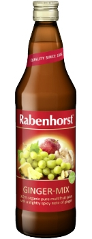 Rabenhorst Ginger-Mix juice - organic - 750ml bottle