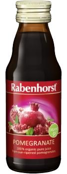 Rabenhorst pure Pomegranate juice - organic - 125ml bottle