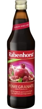 Rabenhorst pure Pomegranate juice - organic - 750ml bottle