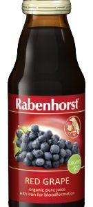 Rabenhorst Red Grape juice with Iron - organic - 125ml bottle
